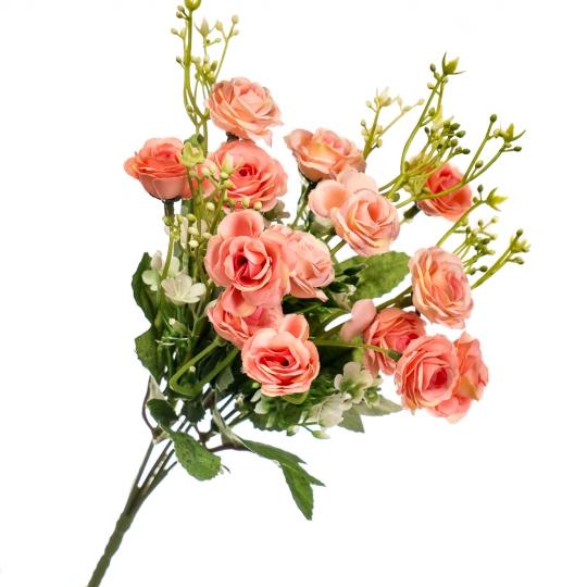 """Цветочный букет """"Персиковые мечты"""" (8023-008/peach)"""