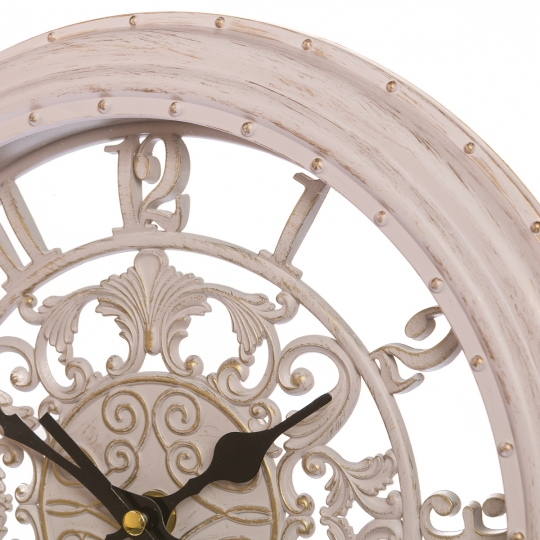 Часы 28 см (131A/cream)