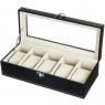 Коробка для часов 5 отделов (29*12*8 см.)