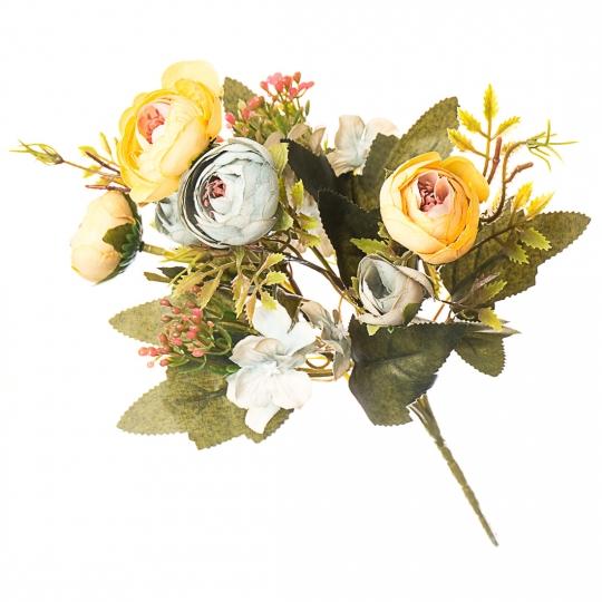 Искусственный цветок (30 см) (006FT-yellowgreen1)