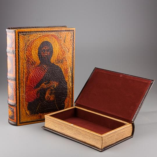 """Книга-шкатулка """"Иисус"""" (24*7*34 см) (10599KSH)"""