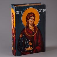 """Книга-сейф """"Святой Сергий"""" (27*17*7 см)"""