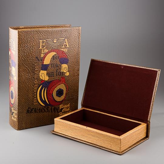 "Книга-шкатулка ""Радиокнига"" (21*30*7 см) (843PV KSH)"