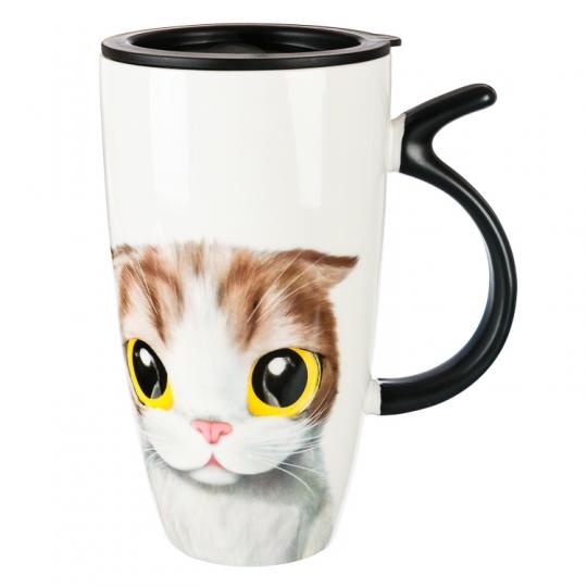 """Кружка, серия """"Кот"""" (500мл) *рандомный выбор дизайна (194JH)"""