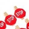 """Прищепка """"Stop"""" (0359J)"""