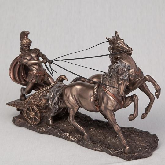"Статуэтка ""Римский воин на колеснице"" (17 см) без упаковки (00BR-72011A4)"