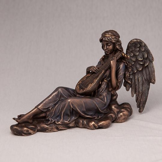"""Статуэтка """"Играющий ангел"""" (22*15 см), без упаковки (00BR-70493 A4)"""