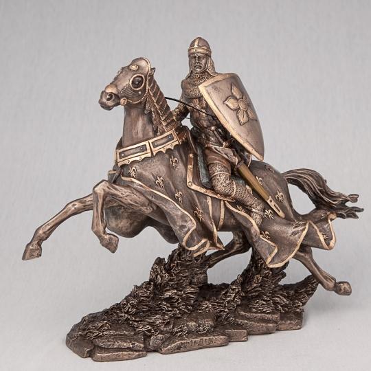 """Статуэтка """"Конный воин с копьем"""" (24 см), без упаковки (00BR-70039 A4)"""