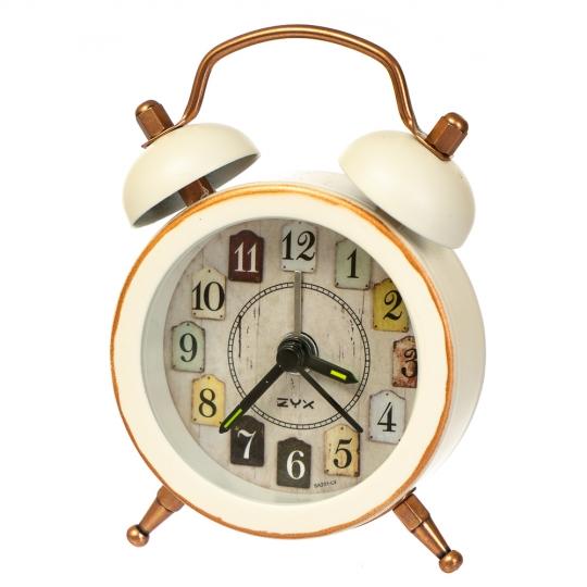 """Часы-будильник """"Яркая жизнь"""" (рандомный выбор дизайна) (0056JA)"""