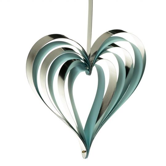 Гирлянда сердца (розовая, голубая) (8711-005)