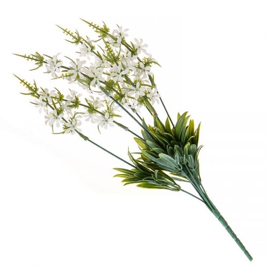 Искуственный цветок (WHITE) (027FW-2)
