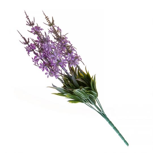 Искуственный цветок (PURPLE) (027FW-1)