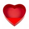 """Коробка для цветов """"Нежное сердце"""", красная (8300-010)"""