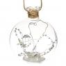 """Елочная игрушка """"Волшебный шар"""", 10х11см (с подсветкой) (050NB)"""