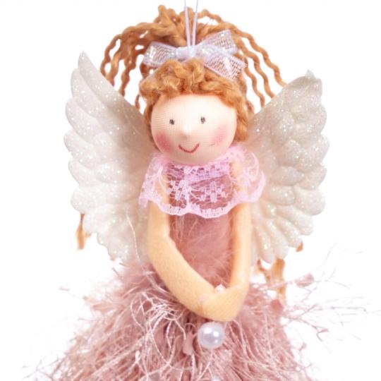 """Подвеска """"Ангел"""" розовый (6013-003)"""