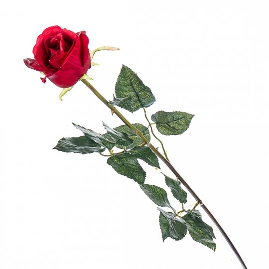 Роза (77 см, силикон) (008F/red)