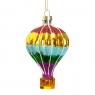 """Елочная игрушка """"Воздушный шар"""", 7х11см (025NB)"""