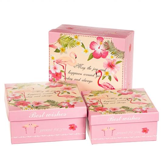 "Набор коробок ""Особенный подарок"" (3шт) (263JH)"
