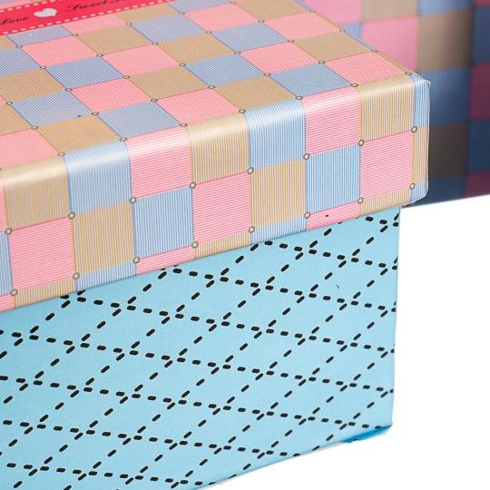 """Набор коробок """"Лаконичность"""" (10шт) (0226JH)"""