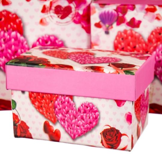"""Набор коробок 10 шт. """"Полёт любви"""" (8305-006)"""