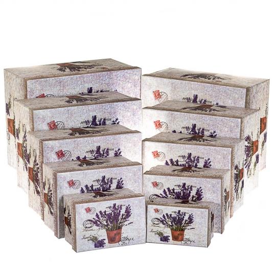 """Набор с 10 коробок """"Прованс"""" (8305-010)"""