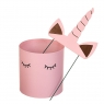 "Набор коробок ""Единорог"" 3 шт, розовый (8300-039)"