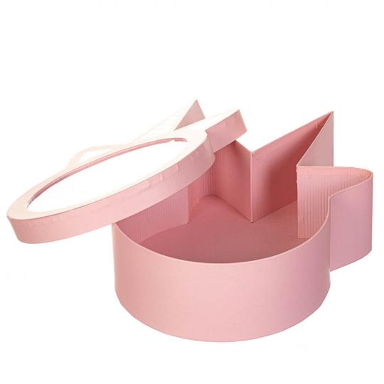 """Коробка для цветов """"Сказочное настроение"""" розовая (8300-050)"""