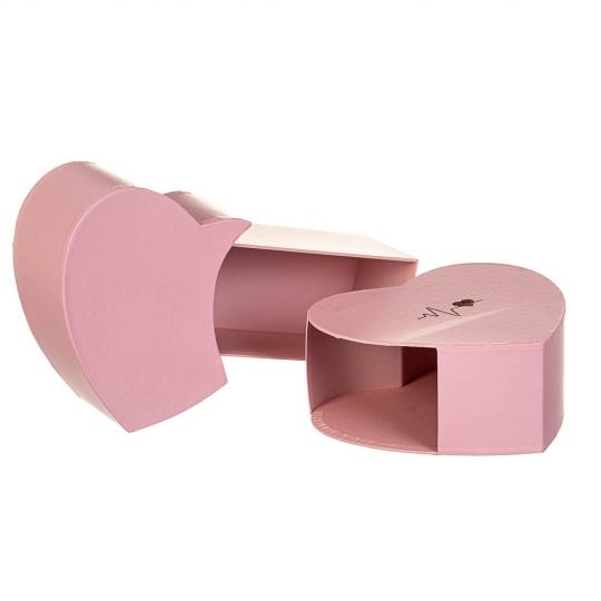 """Коробка для цветов """"Волнение"""",  розовая (8300-057)"""