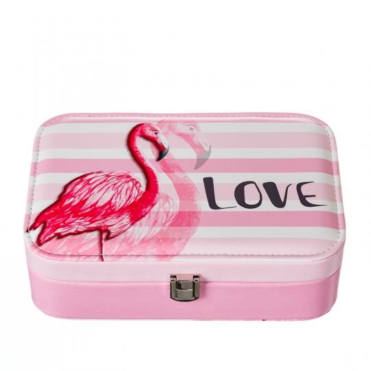 "Шкатулка для украшений ""Love flamingo"" (300JH)"