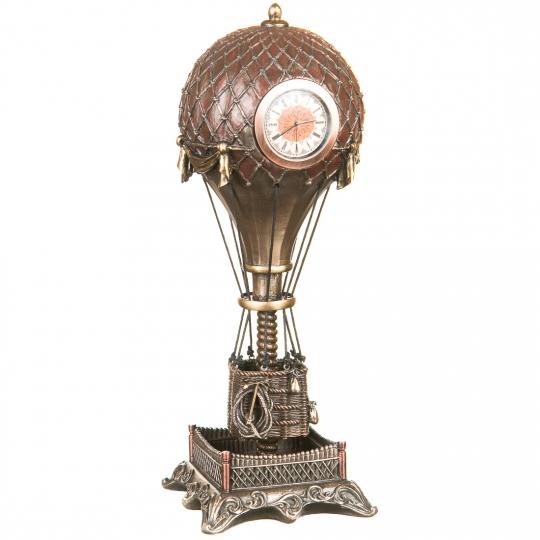 Стимпанк Воздушный шар Часы (31 см) (76967A4)