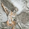 """Картина серебро """"Архангел Михаил"""" (23,5 см) (77174AB)"""