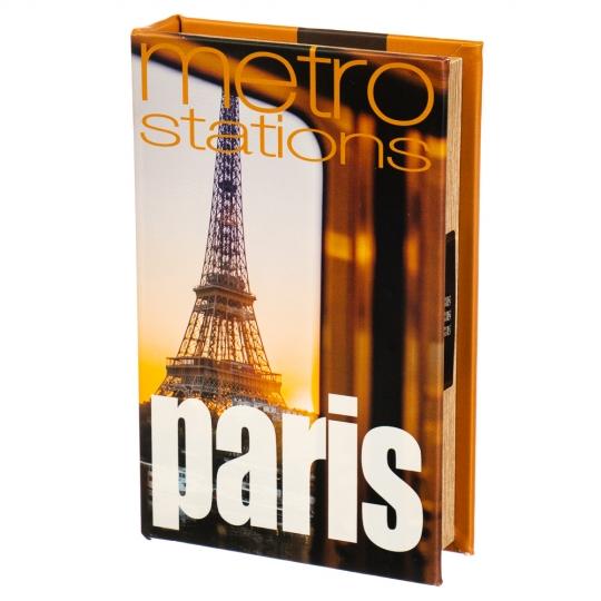 "Книга-сейф ""Париж"" (кодовый замок) (0001-010)"
