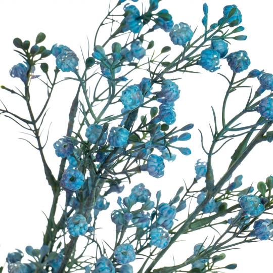 Ветка сухоцвета полевого синяя (8100-004)