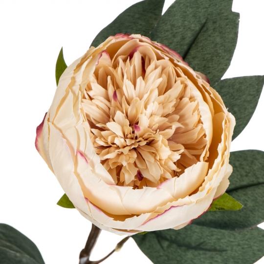 """Цветок искусственный """"Персиковый пион"""" (8100-012)"""