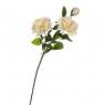 """Цветок искусственный """"Роза чайная"""" белая (8100-025)"""