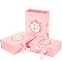 """Набор коробок """"Только тебе, с любовью"""" (пудровый  цвет) 3шт."""