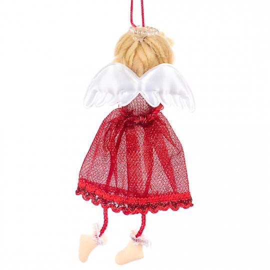 """Игрушка """"Ангелочек"""" (красная юбка) (0541J)"""