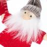 """Набор игрушек   """"Новогодняя компания"""" (4 шт) (красный костюм) (0237JA-A)"""