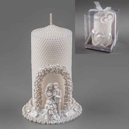 Свадебная свеча (13 см) (004Q)