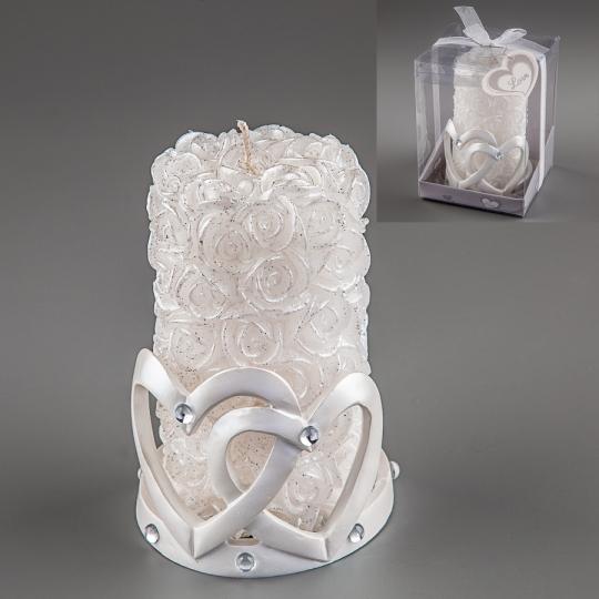Свадебная свеча (13 см) (012Q)