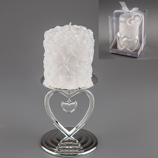 Свадебная свеча (9 см) (013Q)