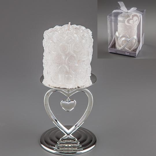 Свадебная свеча (9 см)