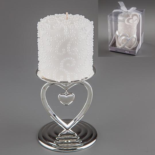 Свадебная свеча (10 см) (014Q)