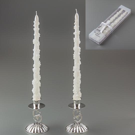 Свадебные свечи (30 см) (015Q)