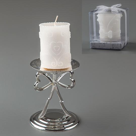 Свадебная свеча (8 см) (019Q)