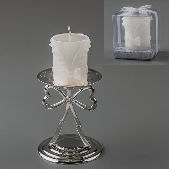 Свадебная свеча (6 см) (025Q)