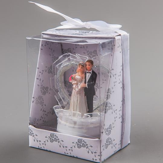 """Фигурка """"Жених и невеста"""" (8 см) (041Q)"""