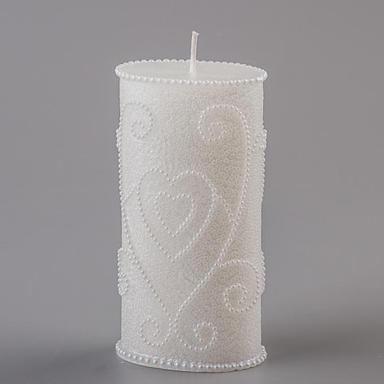 Свадебная свеча (15 см) (066Q)