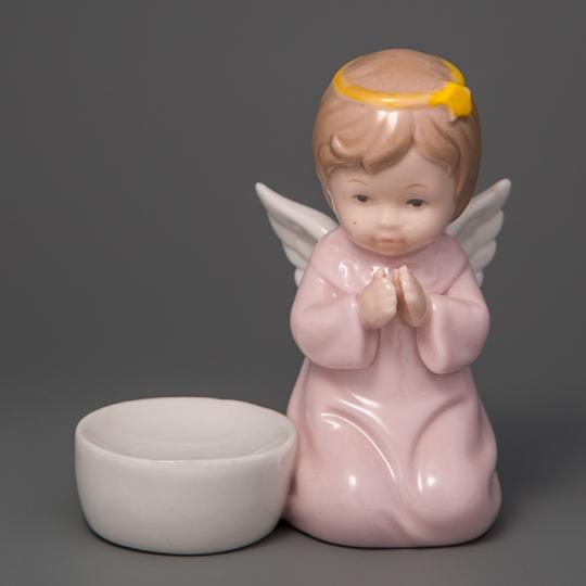 """Подсвечник """"Ангелочек"""" (11 см) (012D)"""