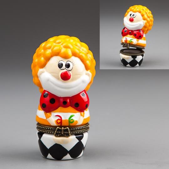 "Шкатулочка ""Клоун"" (8 см) (014E)"